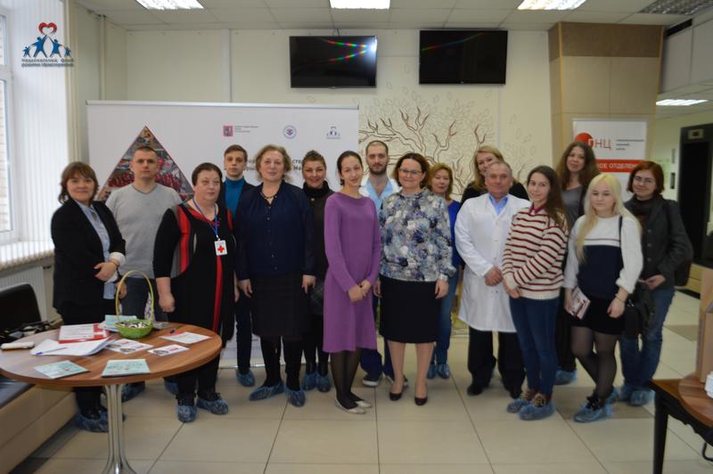 Добровольцы готовы помогать донорству крови и костного мозга